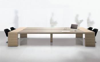 Table de réunion KYO bois laqué
