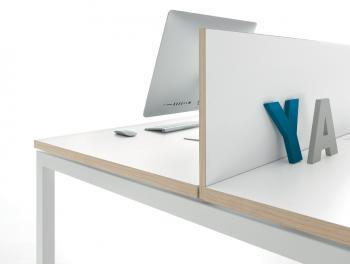 Séparation frontale bureau bench
