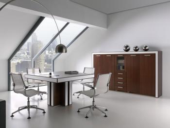 Table de réunion carrée
