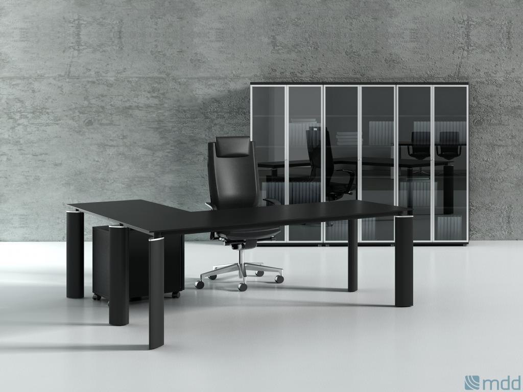 Bureau design noir. petit bureau design with bureau design noir
