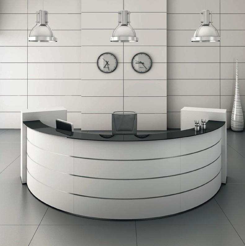 bureau design arrondi latest majestik with bureau design arrondi gallery of stock of bureau. Black Bedroom Furniture Sets. Home Design Ideas