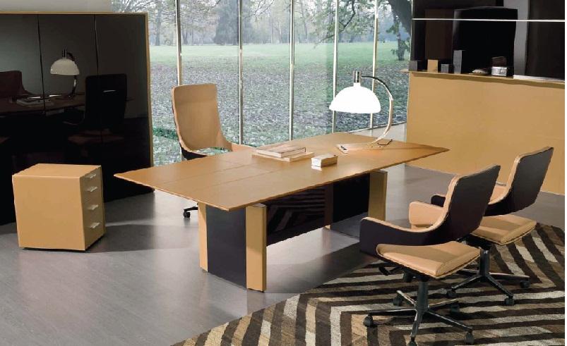 Bureau de symetria cuir montpellier 34 n mes 30 s te for Mobilier bureau 67