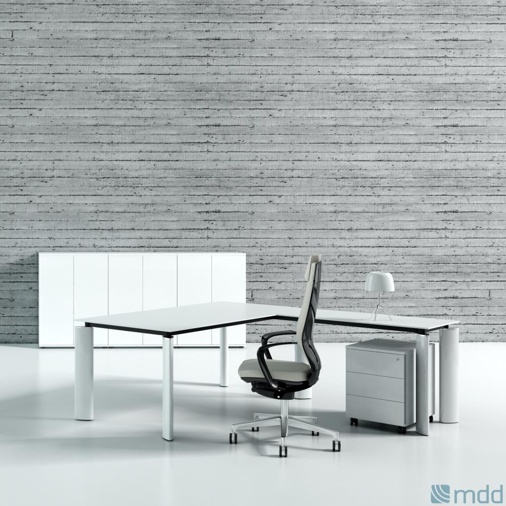 Bureau design crystal montpellier 34 n mes 30 b ziers for Bureau verre blanc