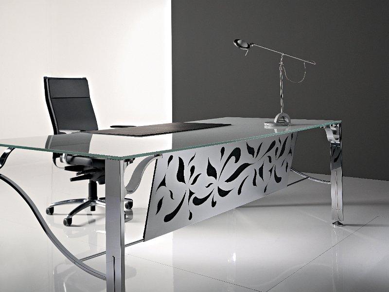 Plateau de verre pour bureau maison design nazpo.com