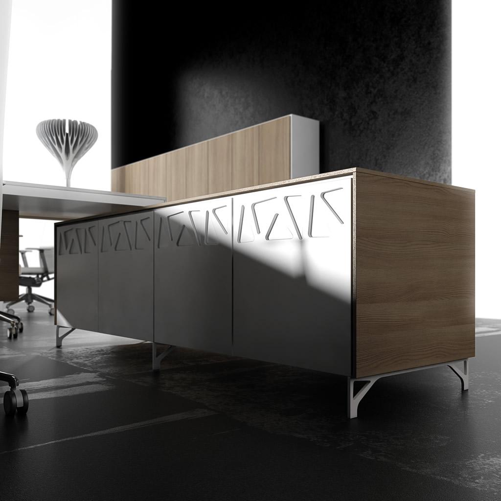 Vente bureau ligne frame bureaux de direction for Meuble bureau montpellier