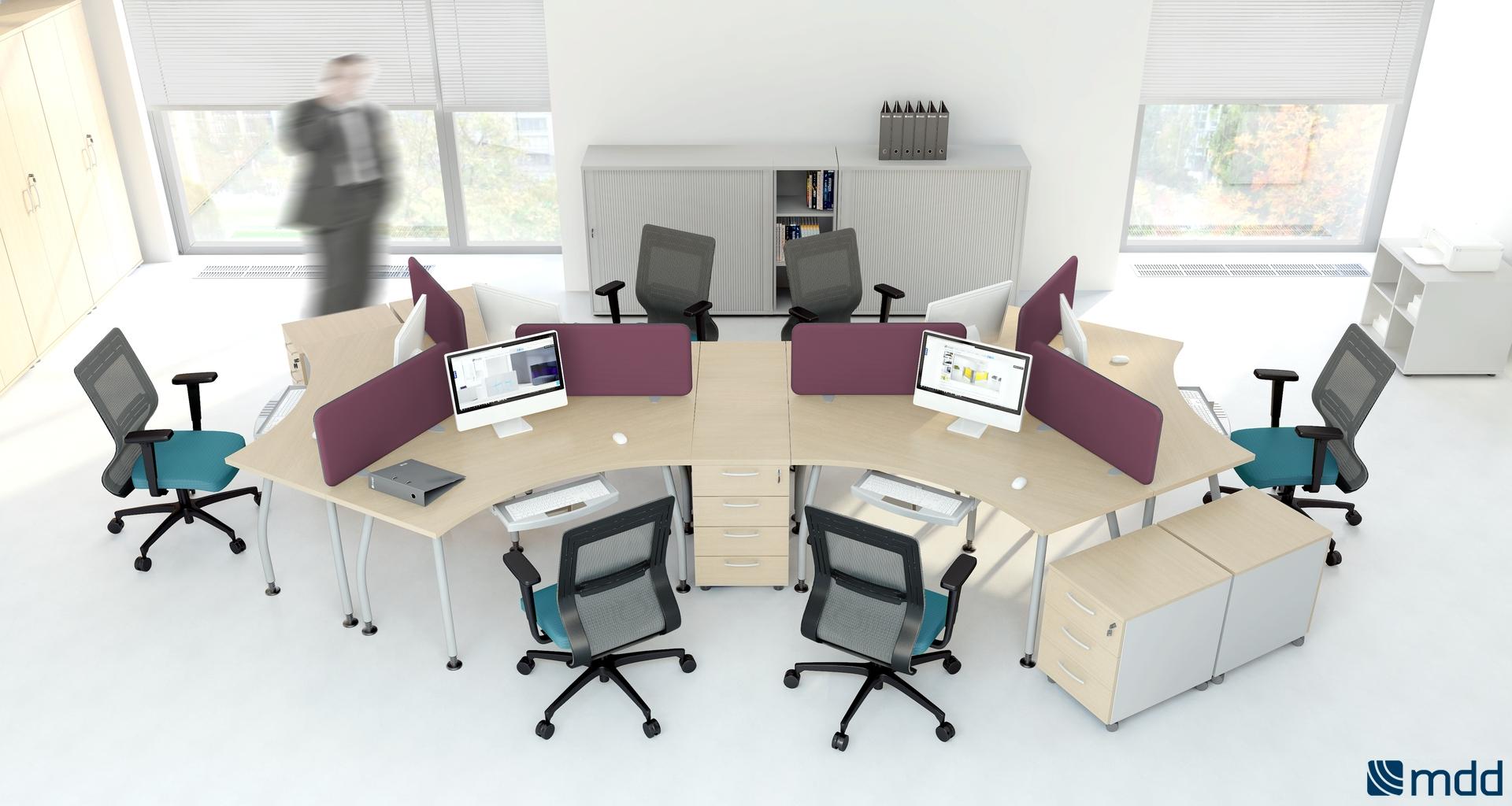 Bureaux bench premier prix montpellier 34 n mes 30 for Bureau 3 postes