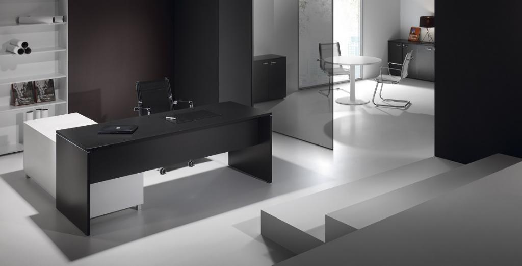 bureaux blanc et noir montpellier 34 n mes 30 agde. Black Bedroom Furniture Sets. Home Design Ideas