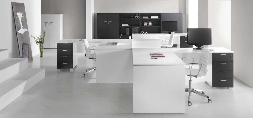 bureaux blanc et noir montpellier 34 n mes 30 agde. Black Bedroom Furniture Sets. Home Design Ideas