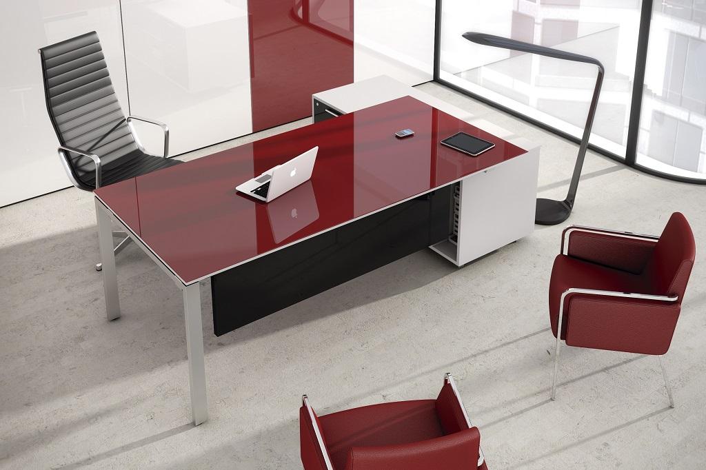 Bureaux plateau stratifi brillant montpellier 34 n mes for Mobilier de bureau montpellier