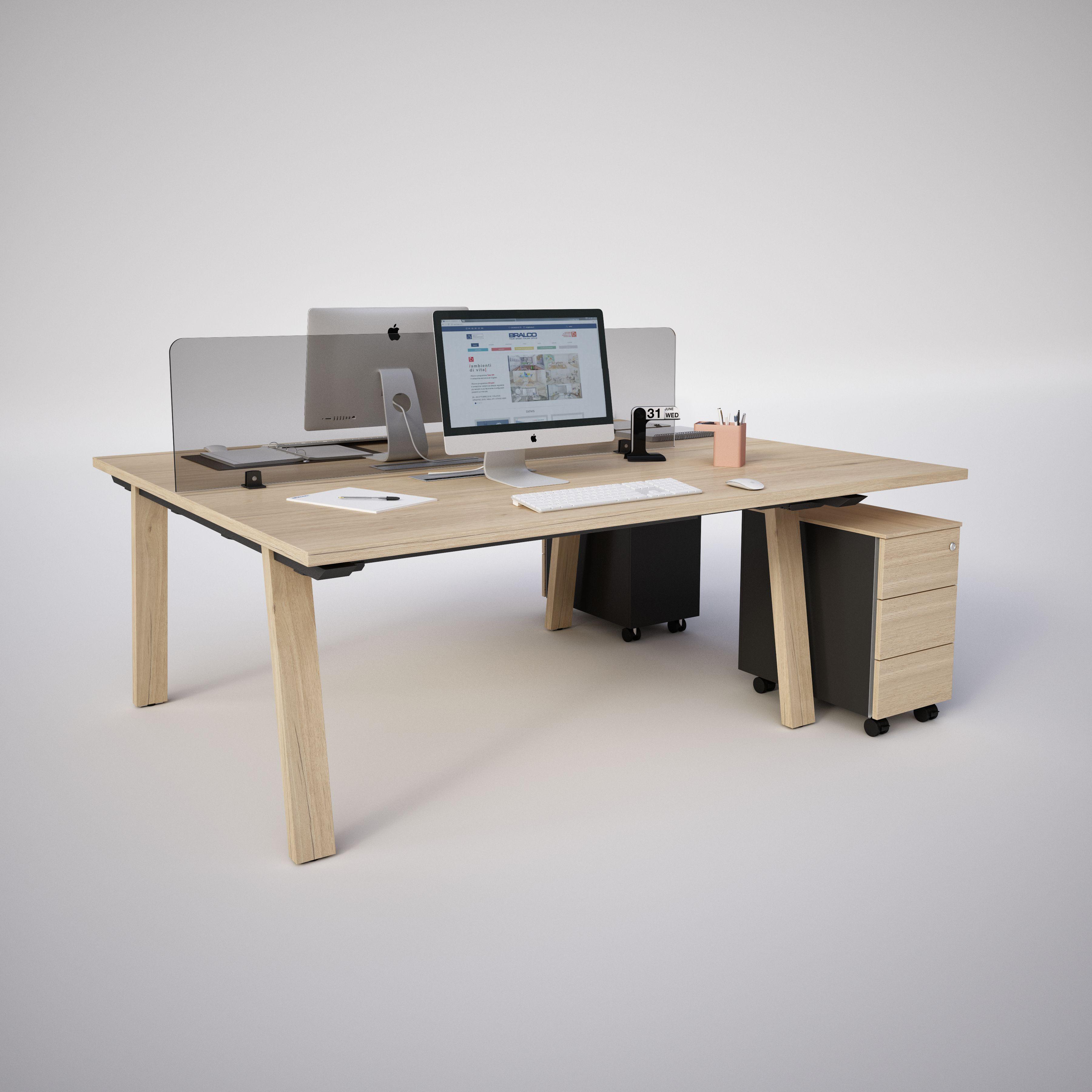 Vente bureaux take off farm bureaux open space bench for Mobilier de bureau montpellier