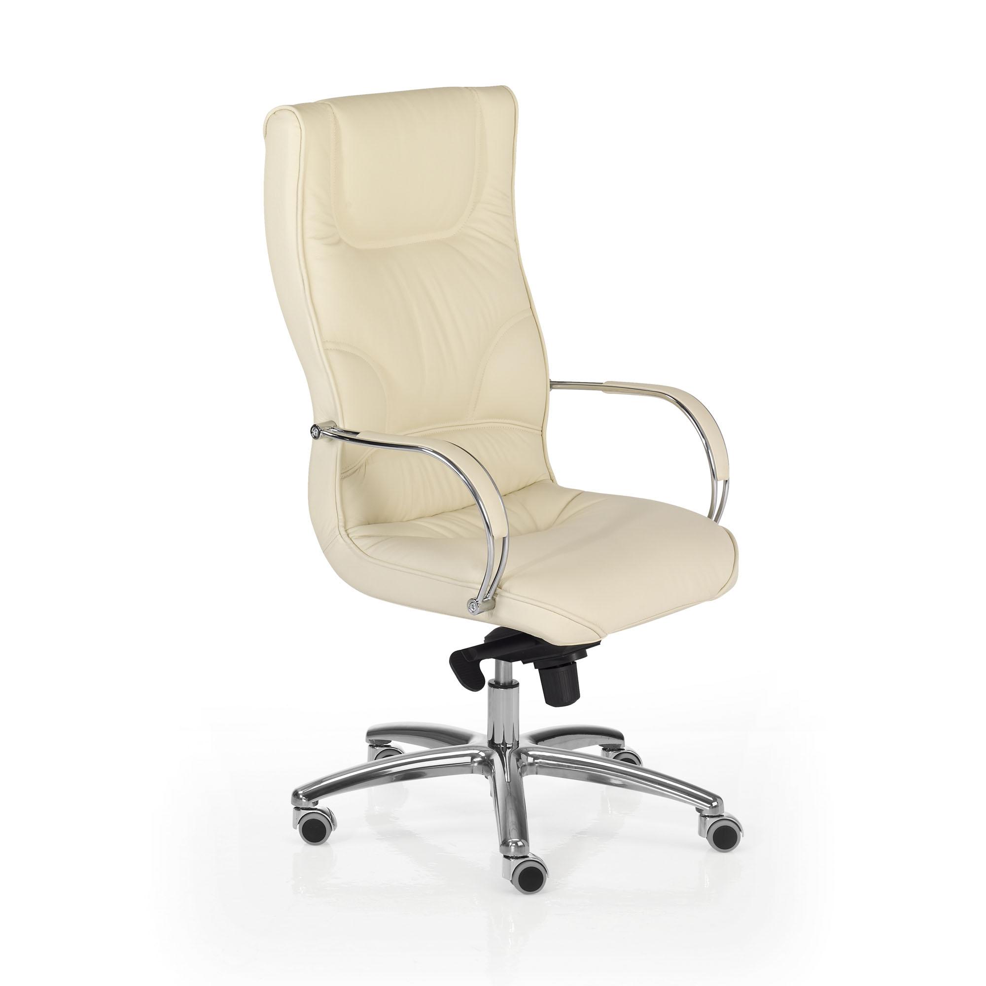 Fauteuil de direction cuir blanc montpellier 34 n mes - Fauteuil de bureau boss ...