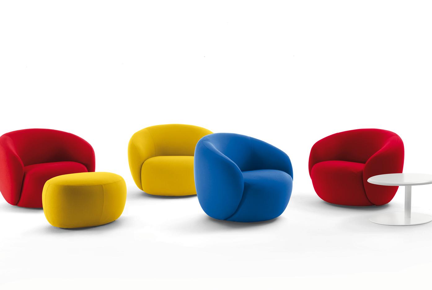 Fauteuils Pour Accueil Design Montpellier Nîmes Béziers - Fauteuil de couleur design