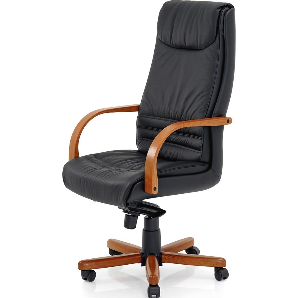 fauteuil de bureau cuir et bois impressionnant fauteuil cuir bureau beau id es de chambre. Black Bedroom Furniture Sets. Home Design Ideas