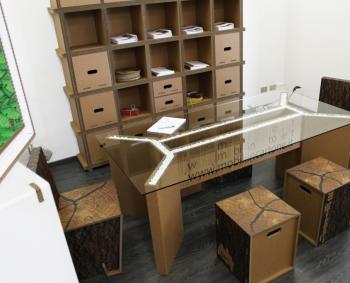 mobilier en carton montpellier 34 n mes 30 s te. Black Bedroom Furniture Sets. Home Design Ideas