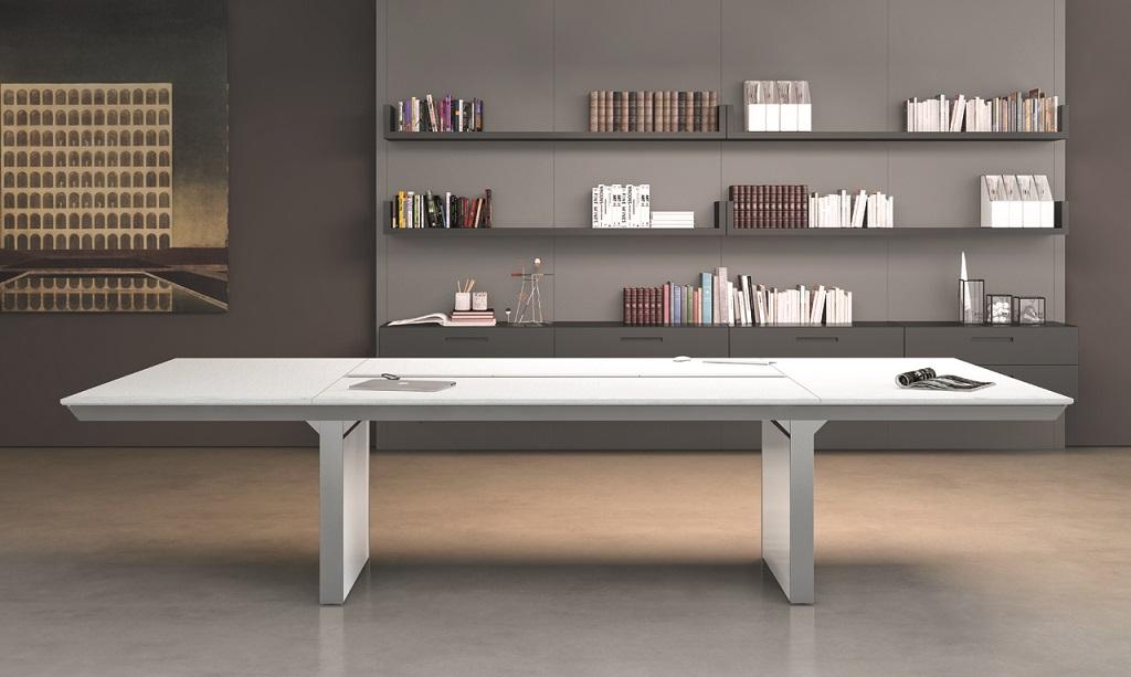 Table de réunion bois laqué montpellier nîmes sète